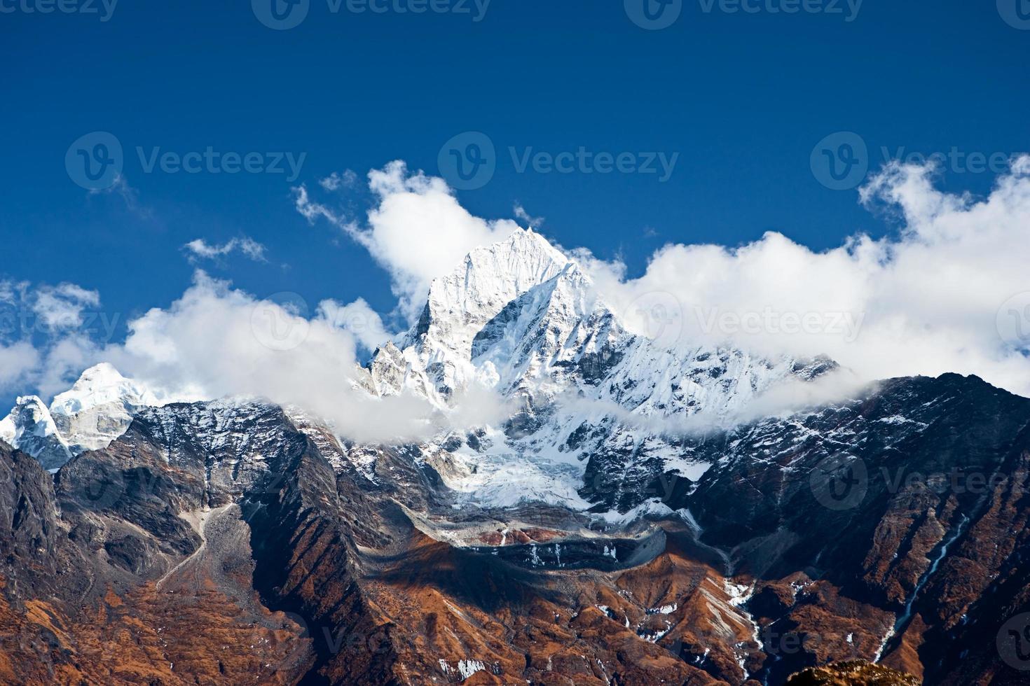Himalaya's landschap foto