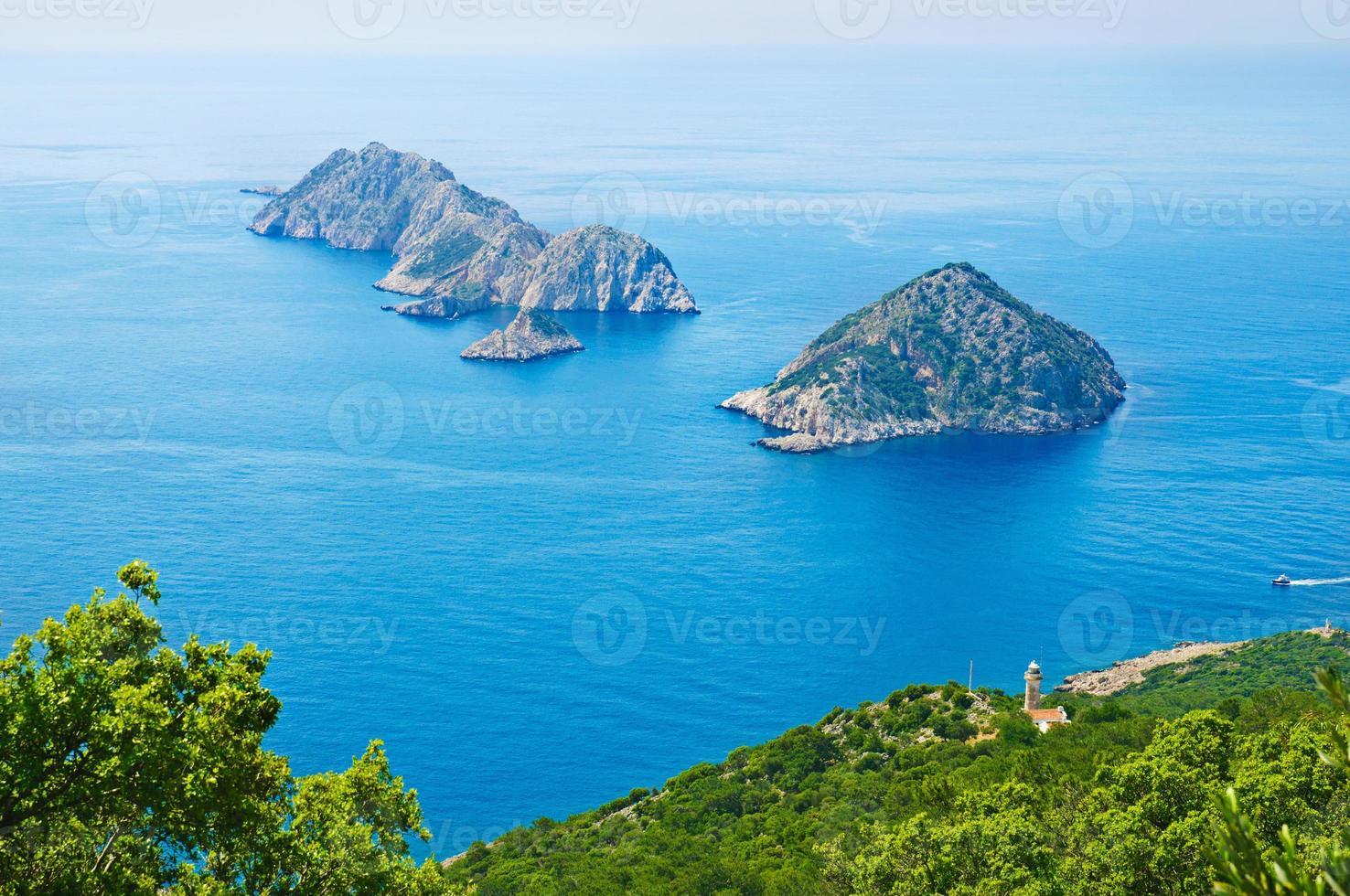 Turkije zee landschap foto