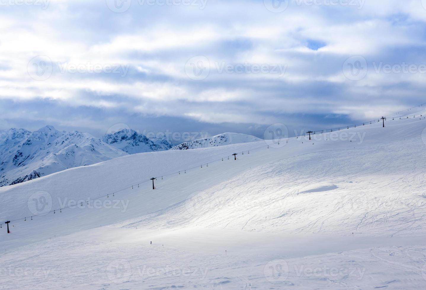Alpen berglandschap foto