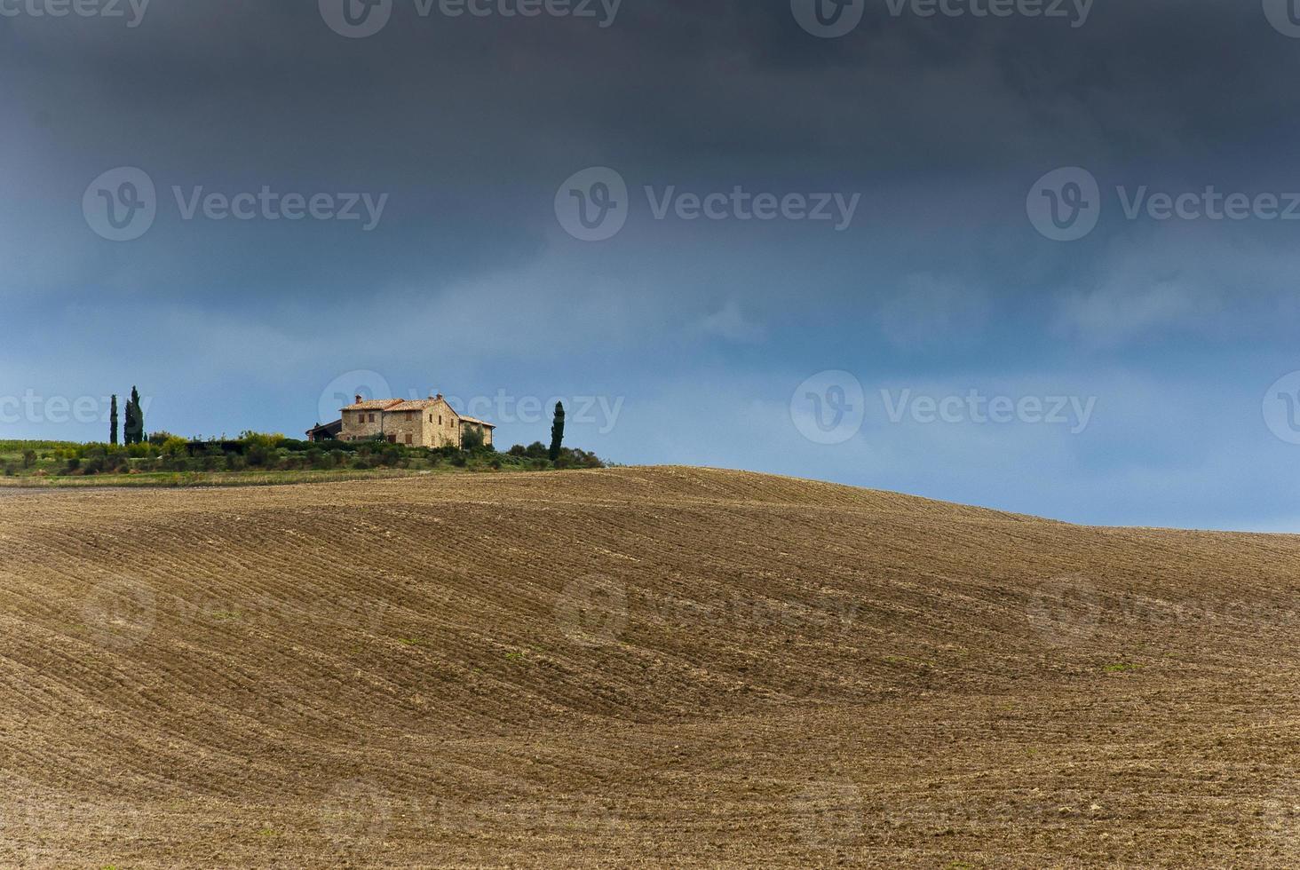 Toscane landschap foto