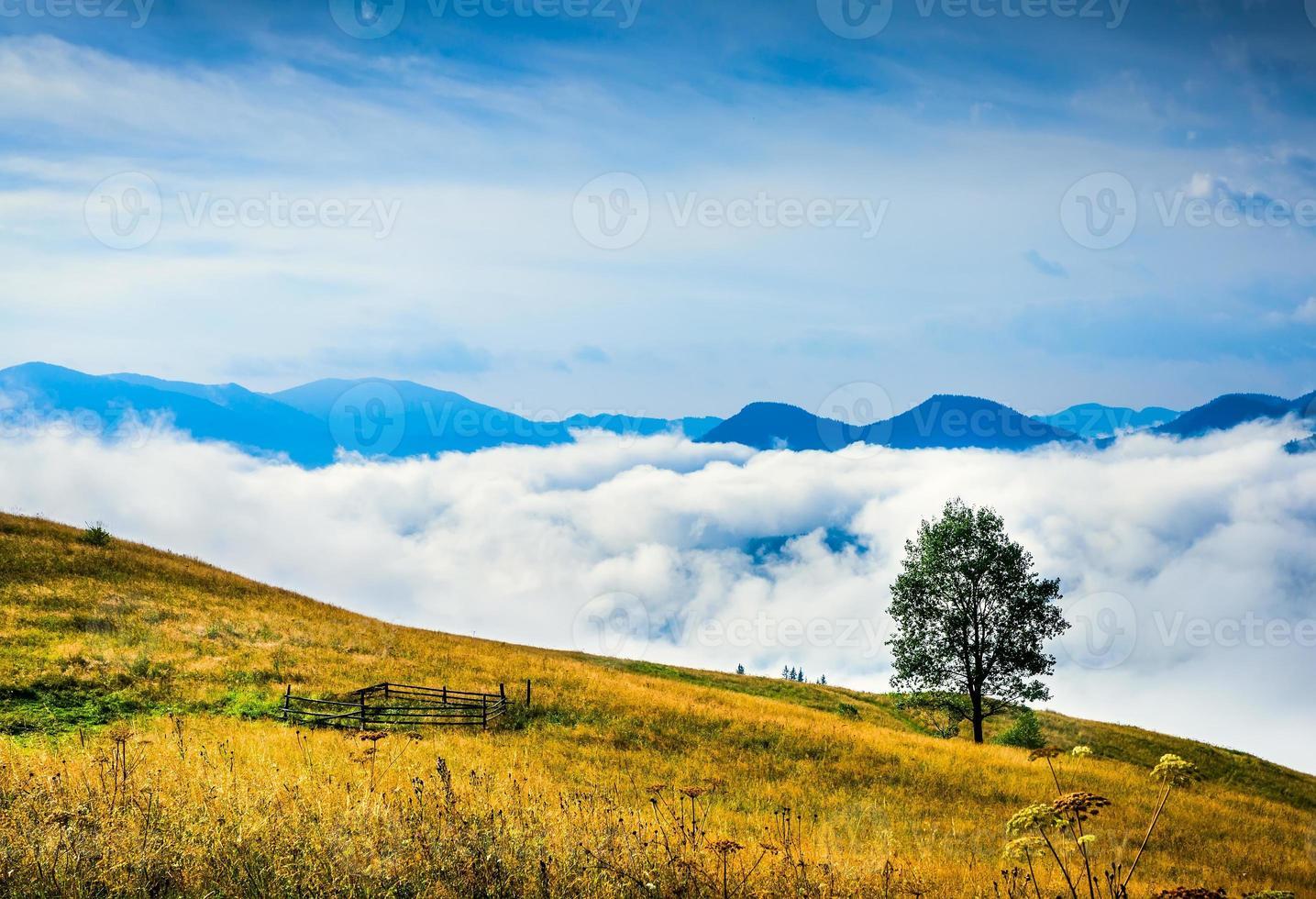 geweldig berglandschap foto
