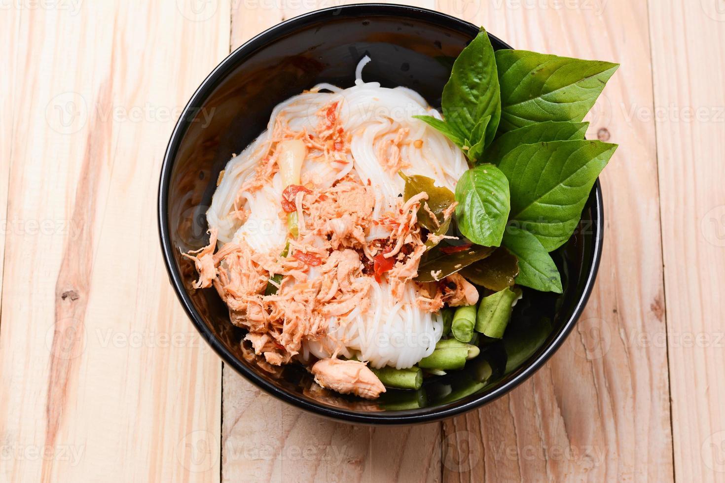 Thailand noodle foto