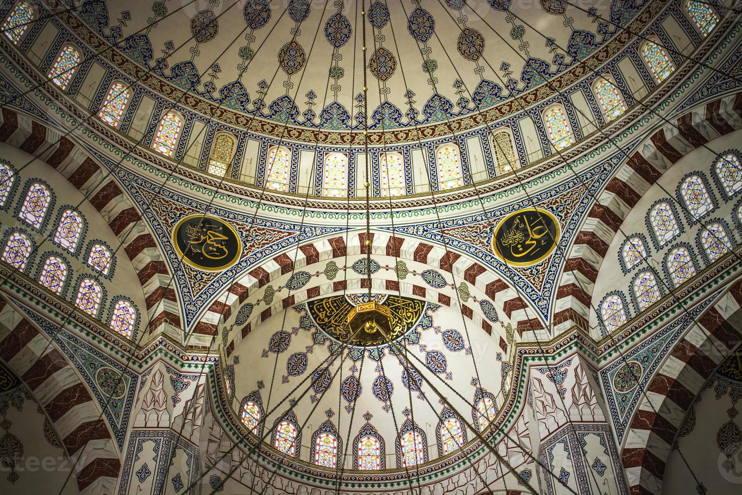 grote, centrale moskee, adana, kalkoen foto
