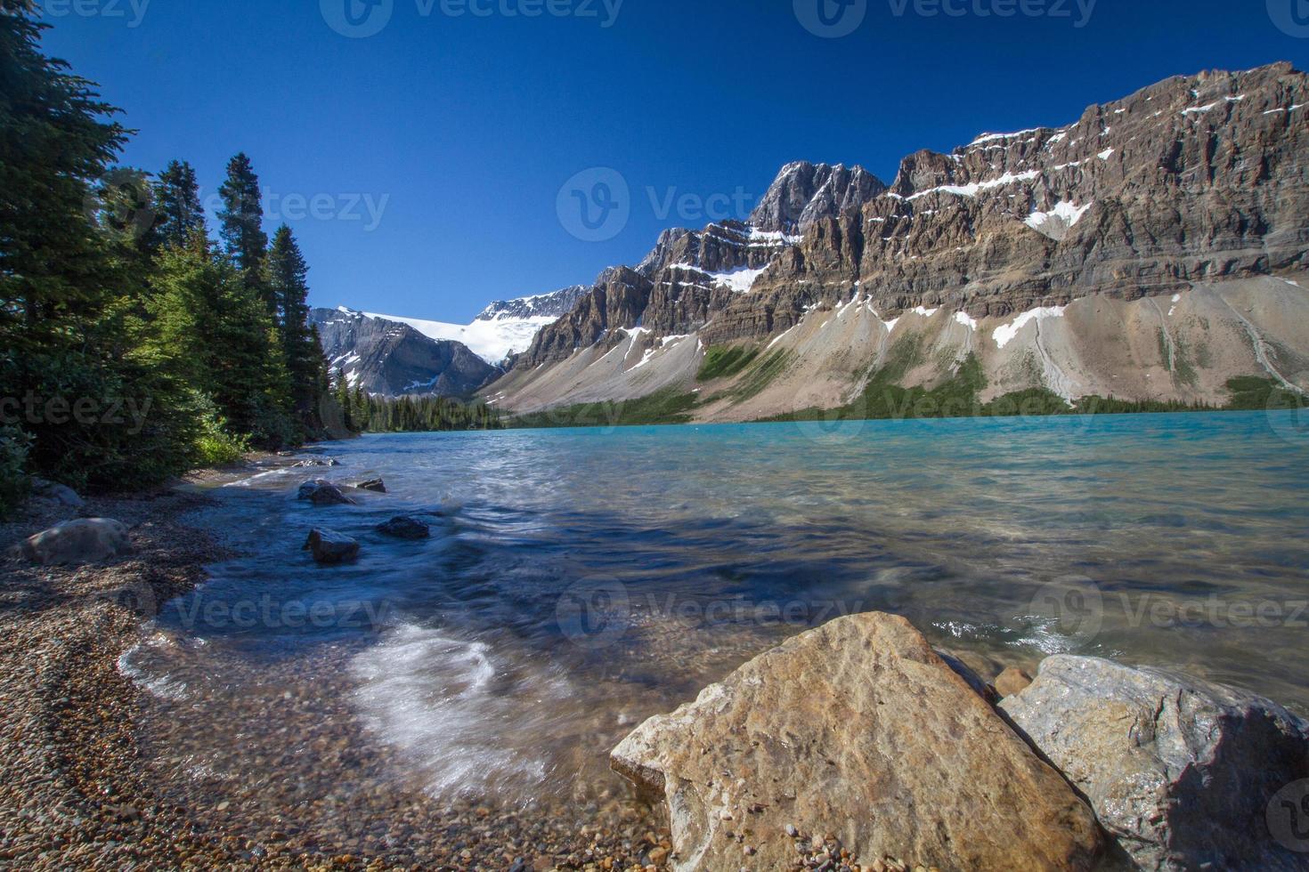landschap in nationaal park banff foto