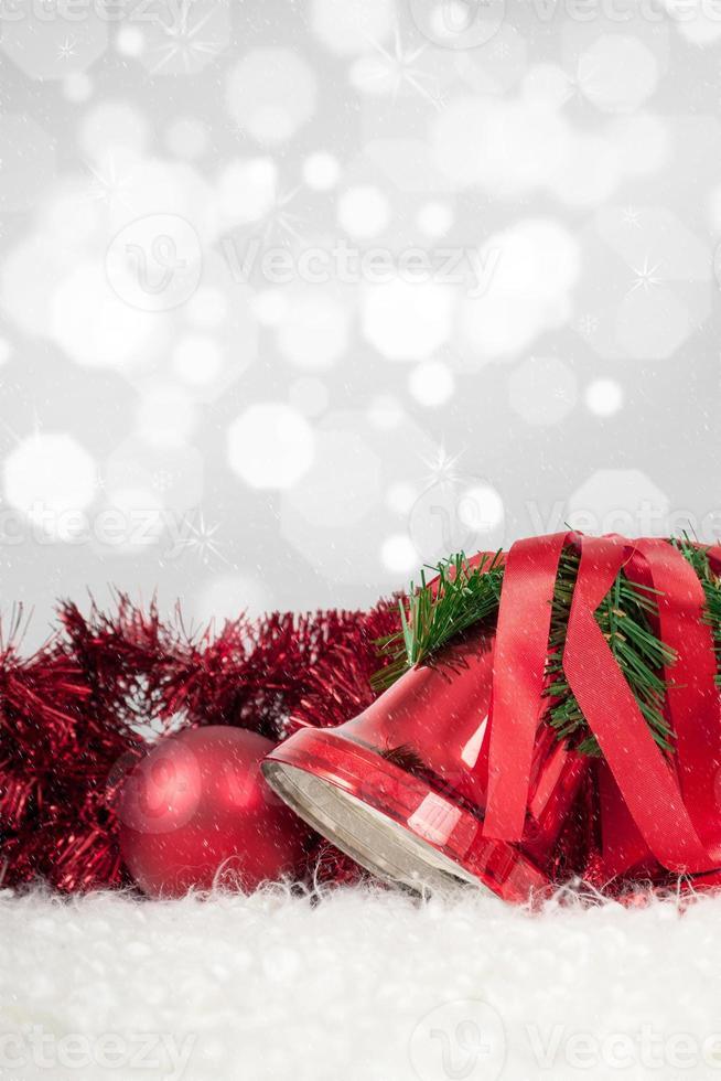 winter decoratie foto