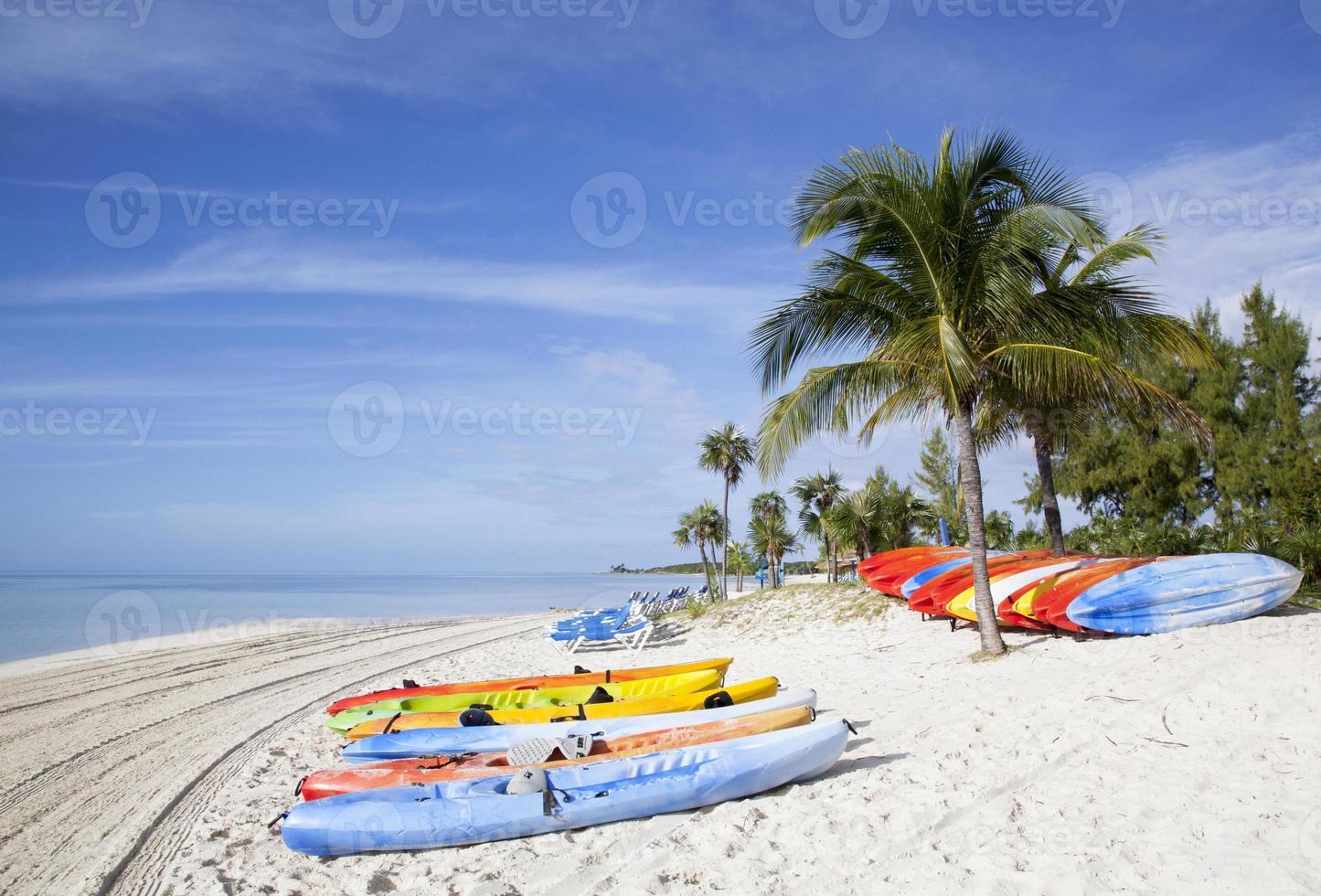 klein eiland strand foto