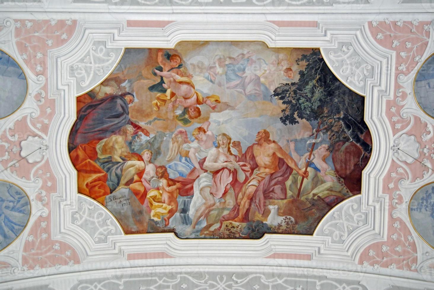 fresco jezus foto