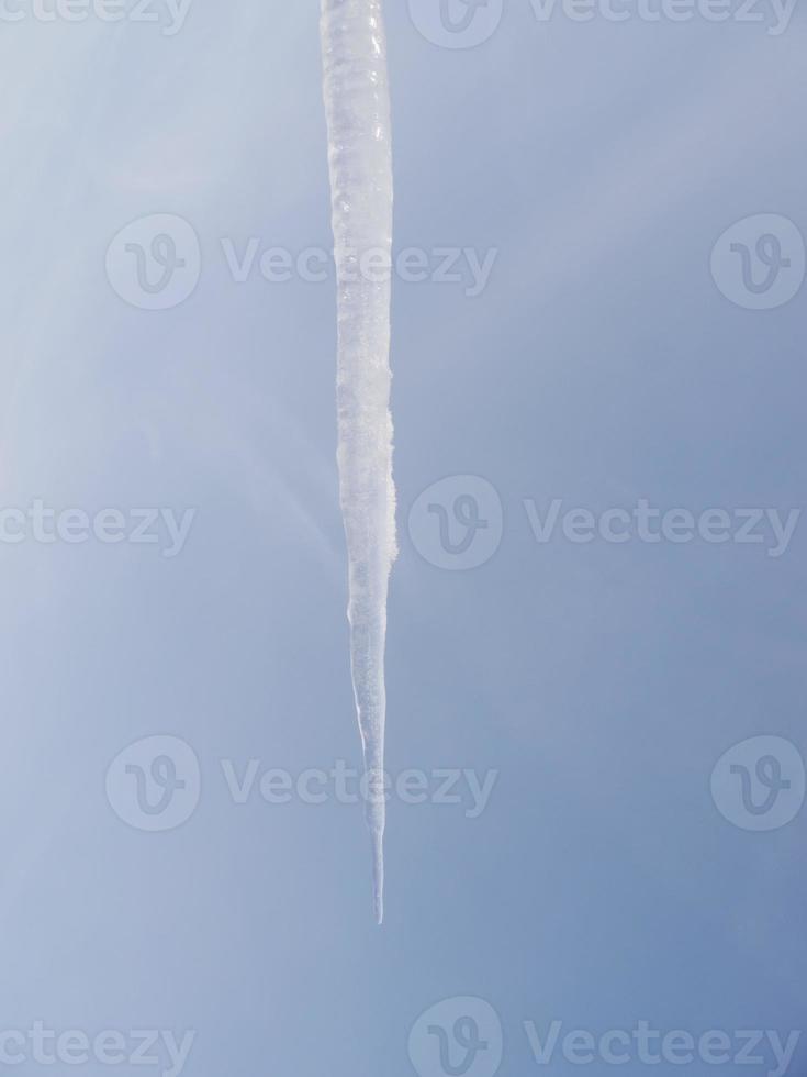 ijspegels ijspegel winter foto