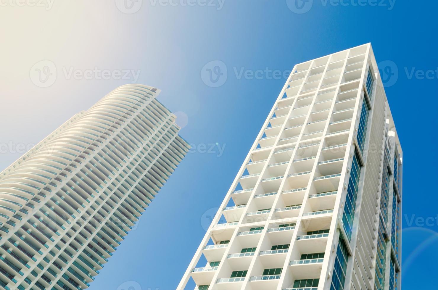 wolkenkrabber in Miami, Florida foto