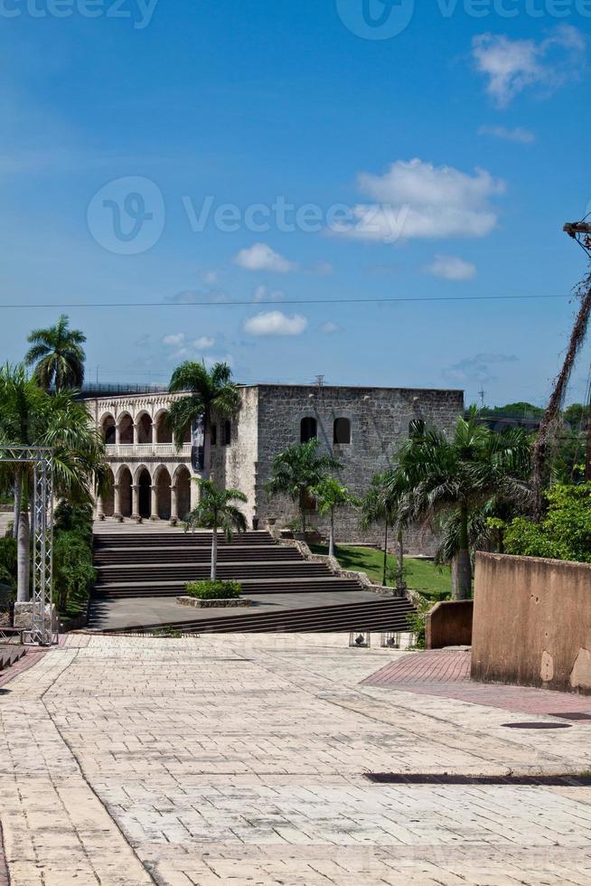 alcazar de colon, santo domingo, dominicaanse republiek foto