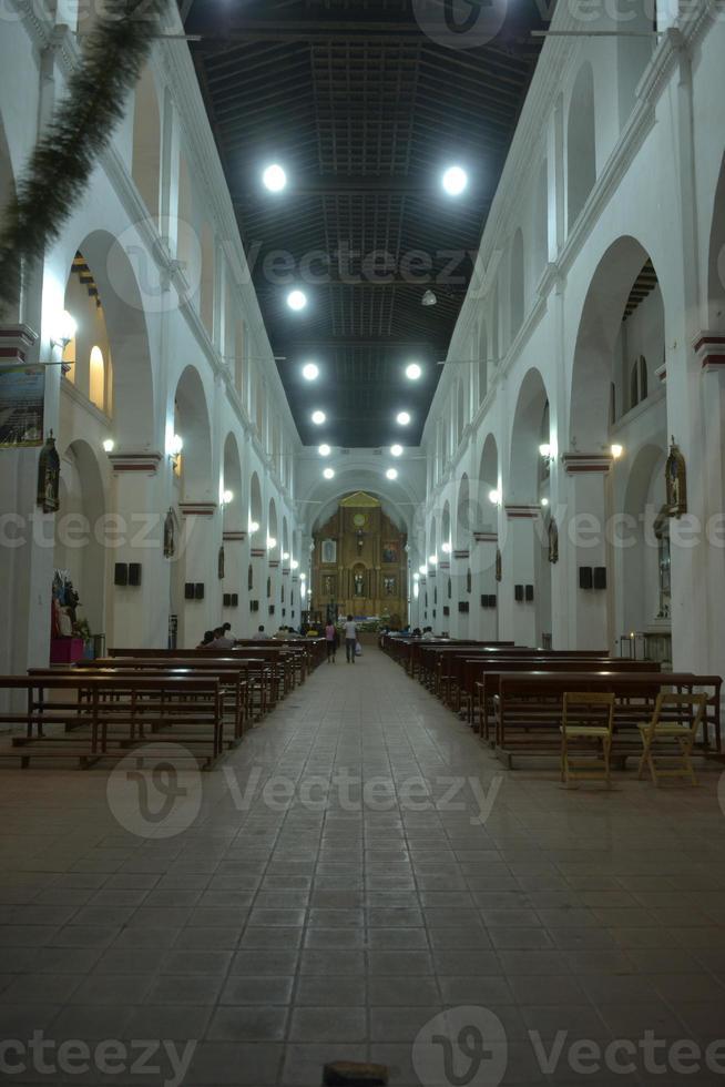 kerk van Santo Domingo Guzman foto