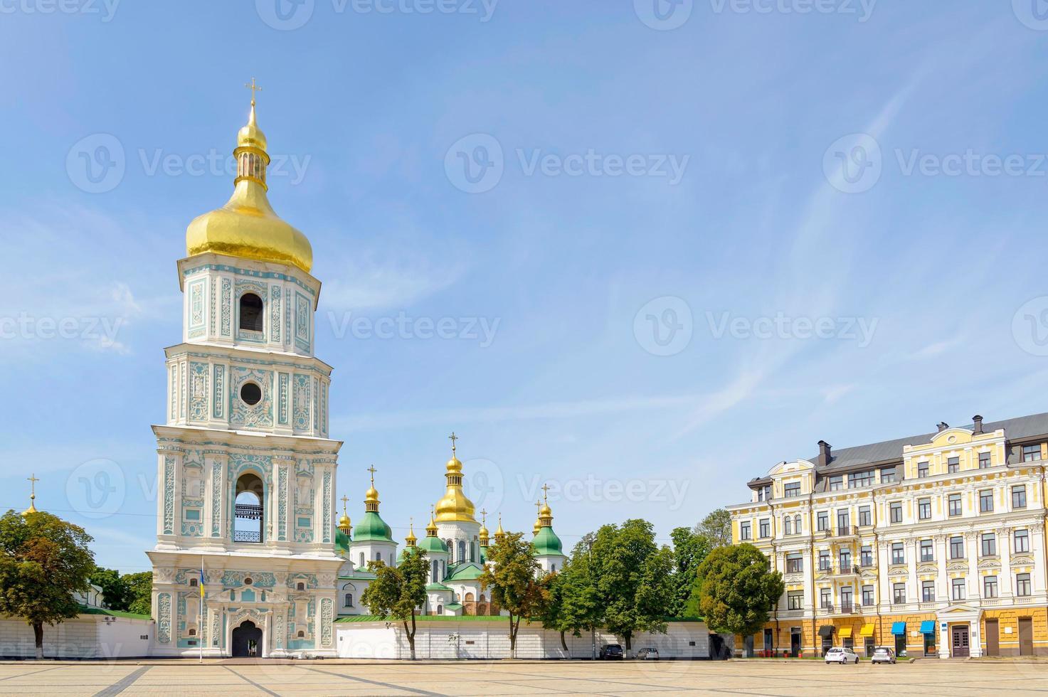 Saint Sophia kerk in Kiev foto