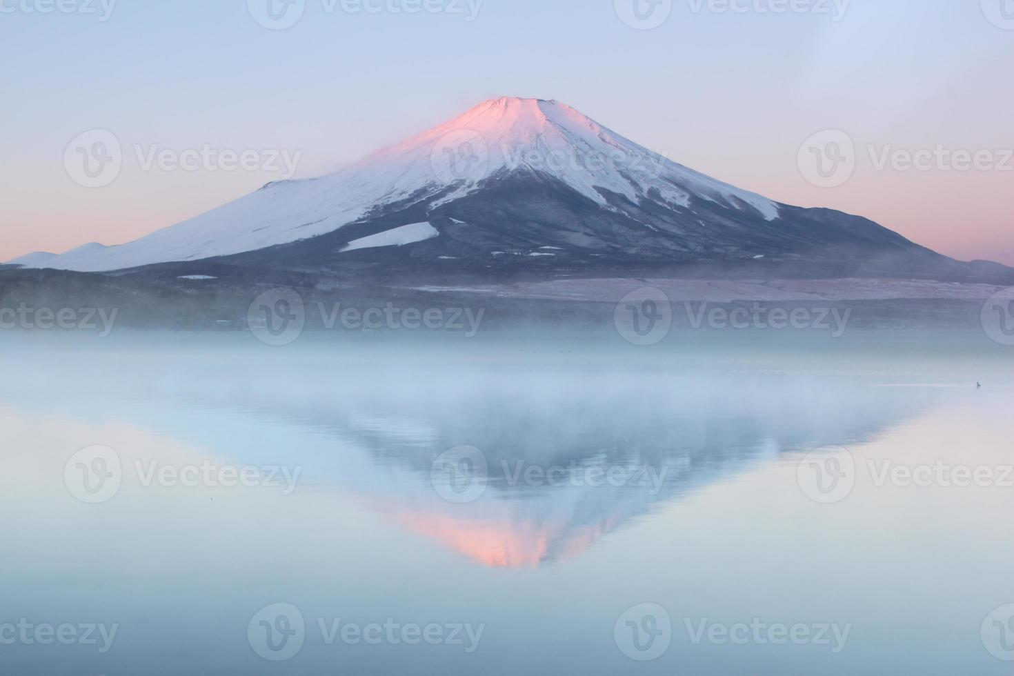 mt.fuji en yamanakako foto