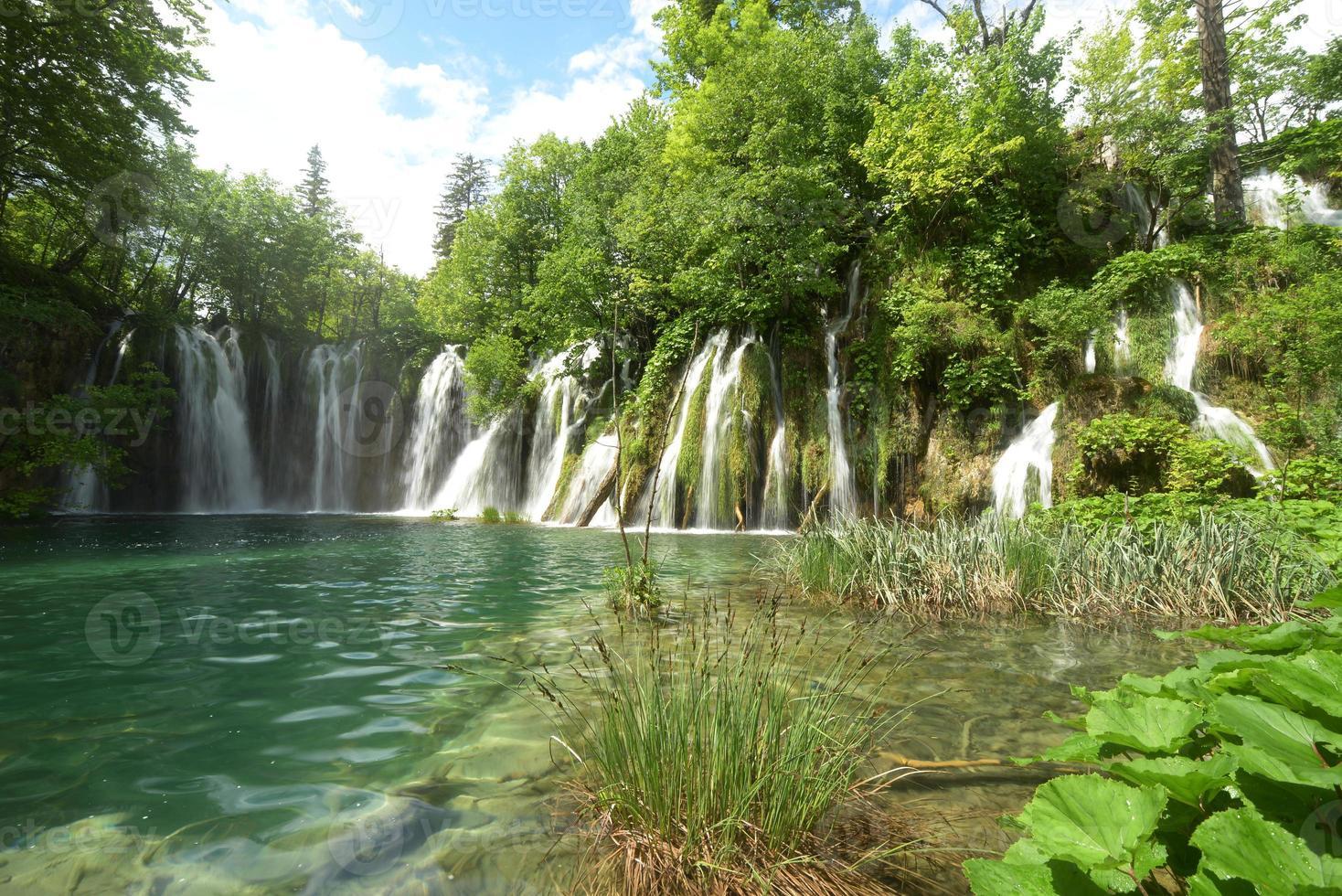 Plitvicemeren, Kroatië, Europa foto