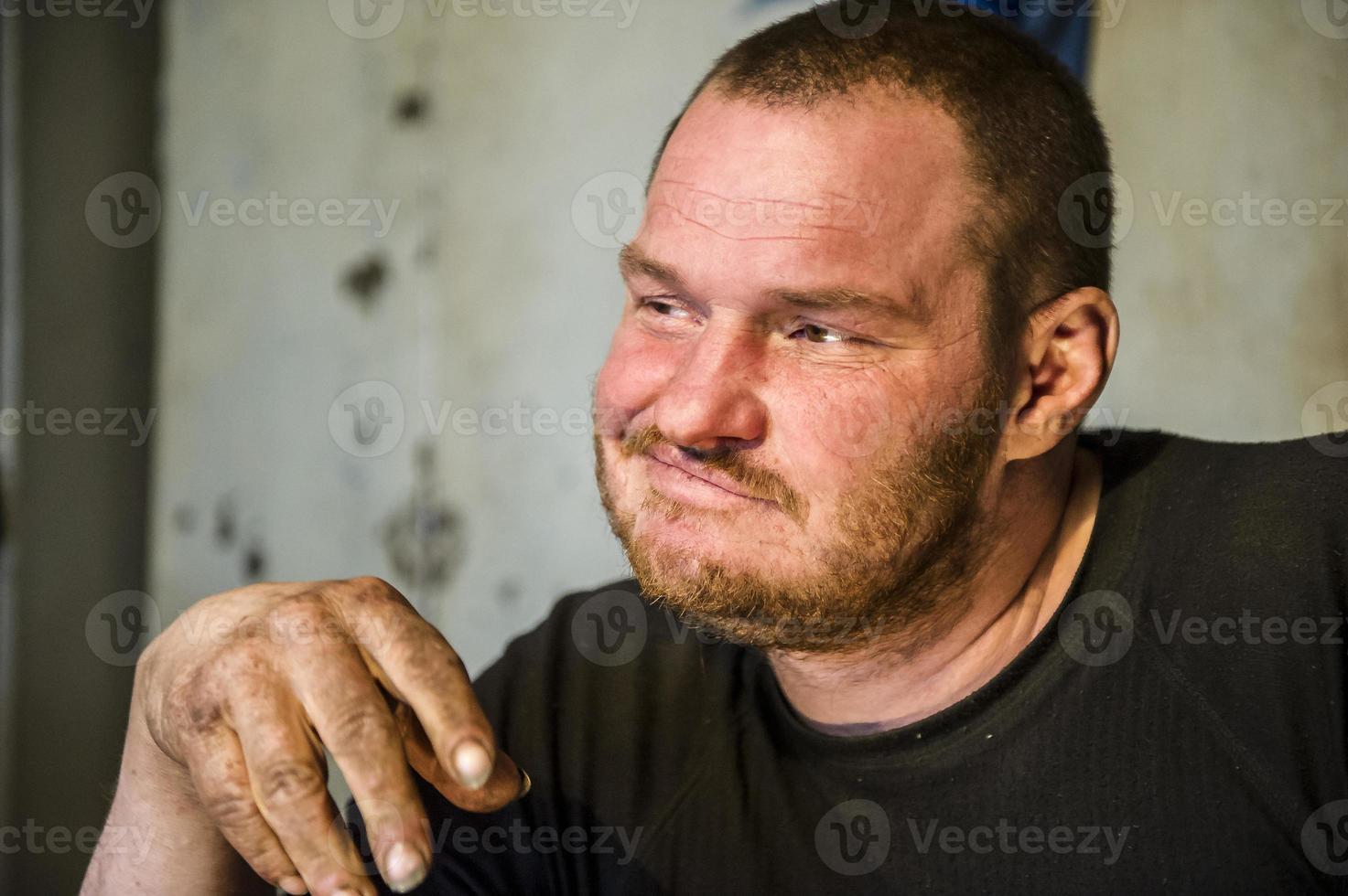 veertig jaar man portret. foto