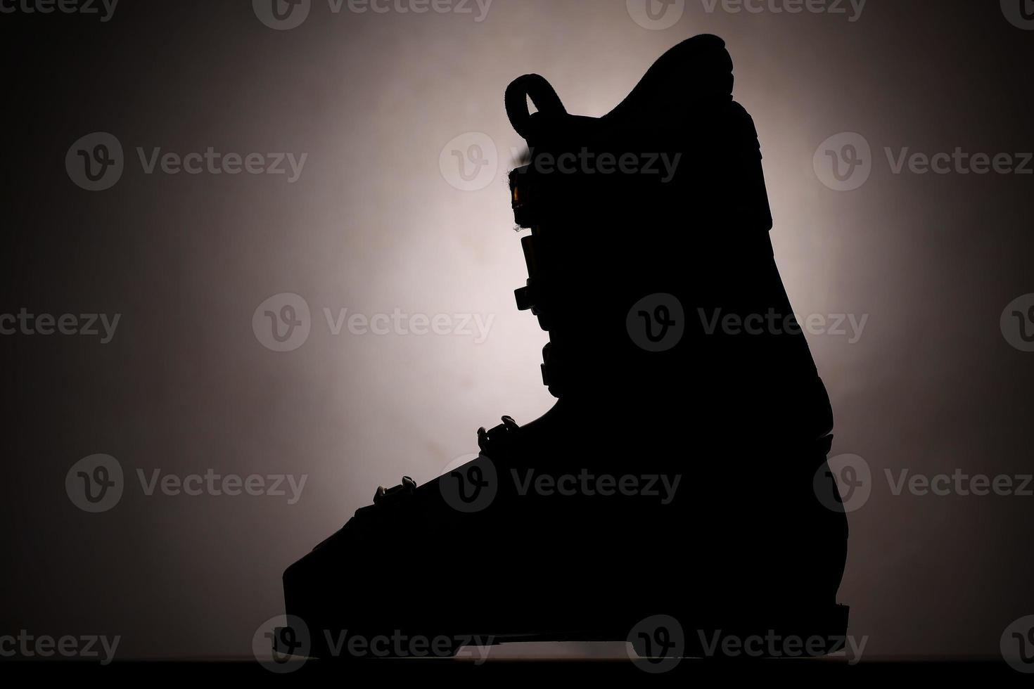 skischoen silhouet foto