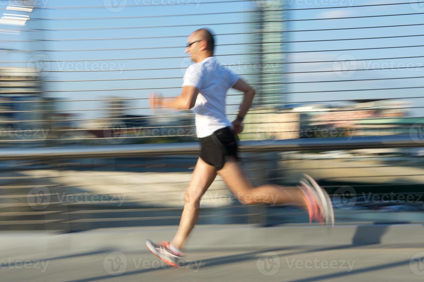 rennende man foto