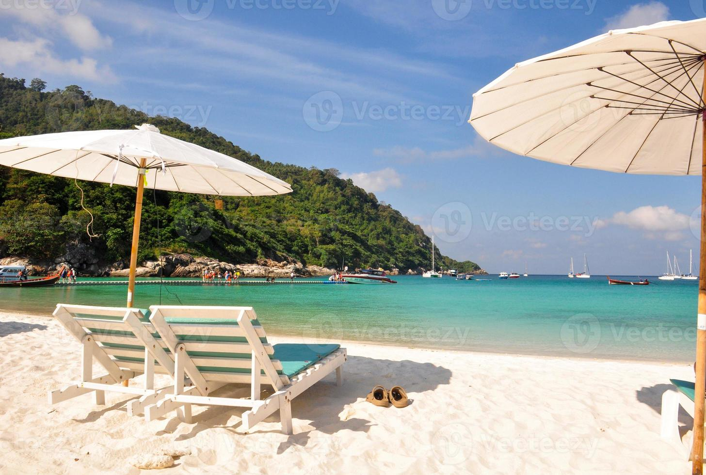 relax dag op raya island, phuket foto