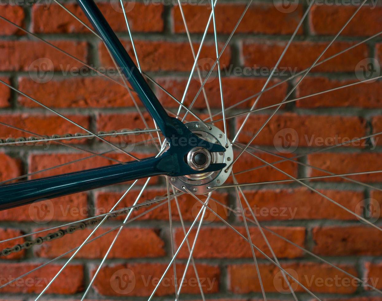 fiets kettingblad foto