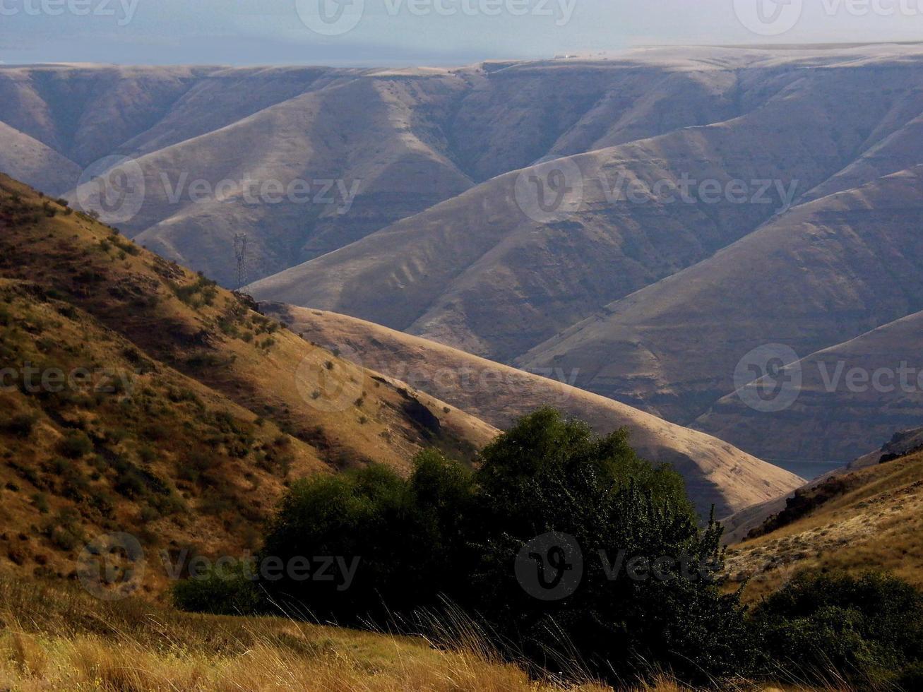 canyons van de staat washington foto