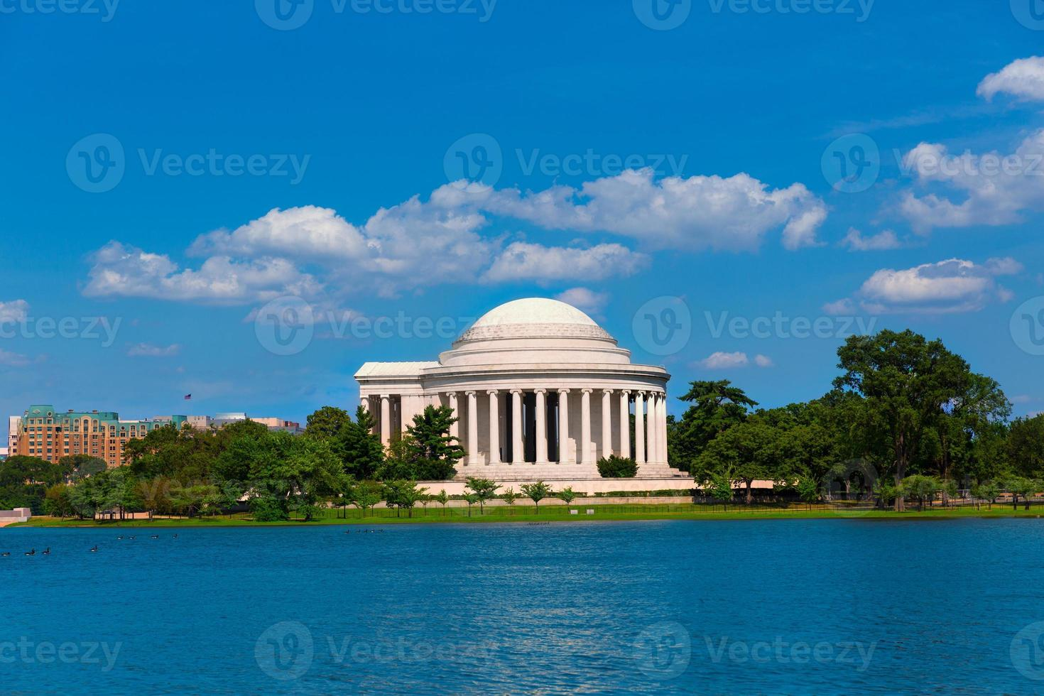 Thomas Jefferson Memorial in Washington DC foto