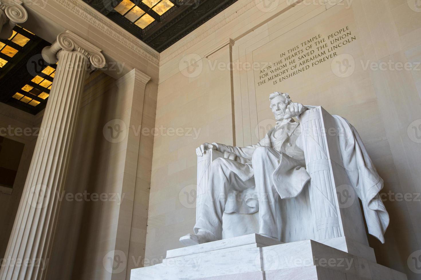 Abraham Lincoln-standbeeld foto