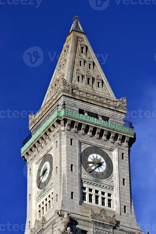 skyline van Boston foto