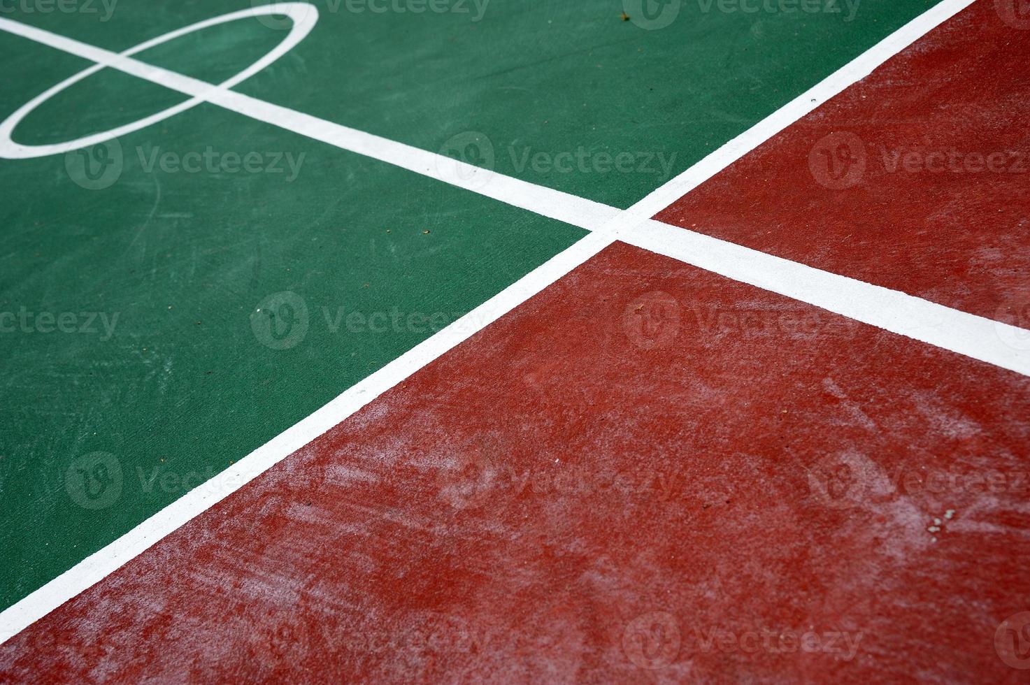 badminton veld foto