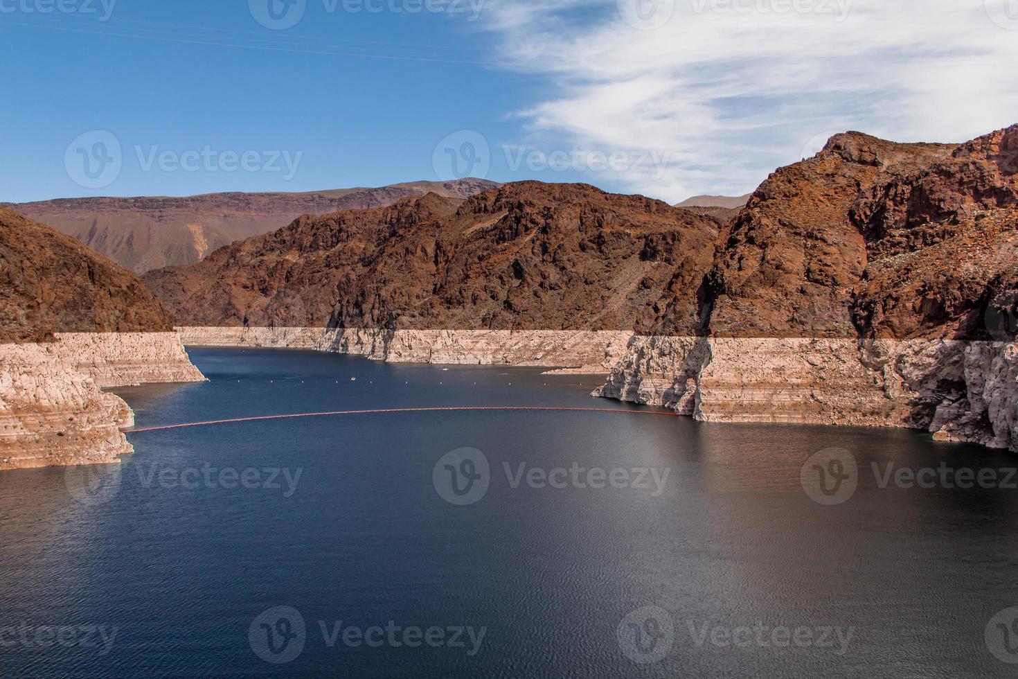 hoover dam stroomopwaarts foto