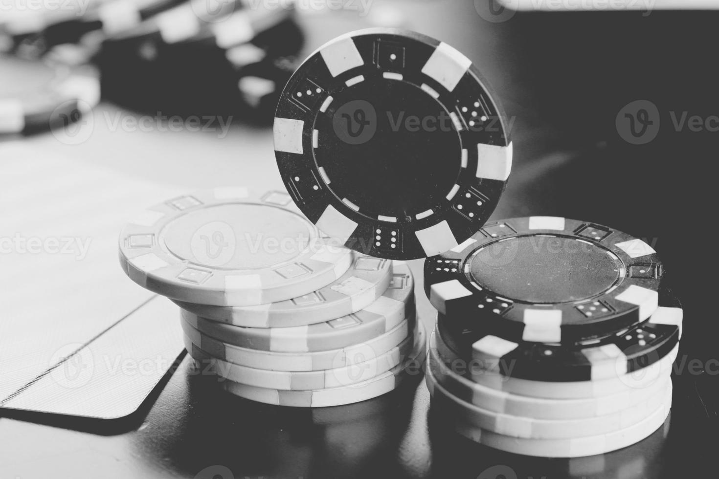poker chips kaarten foto