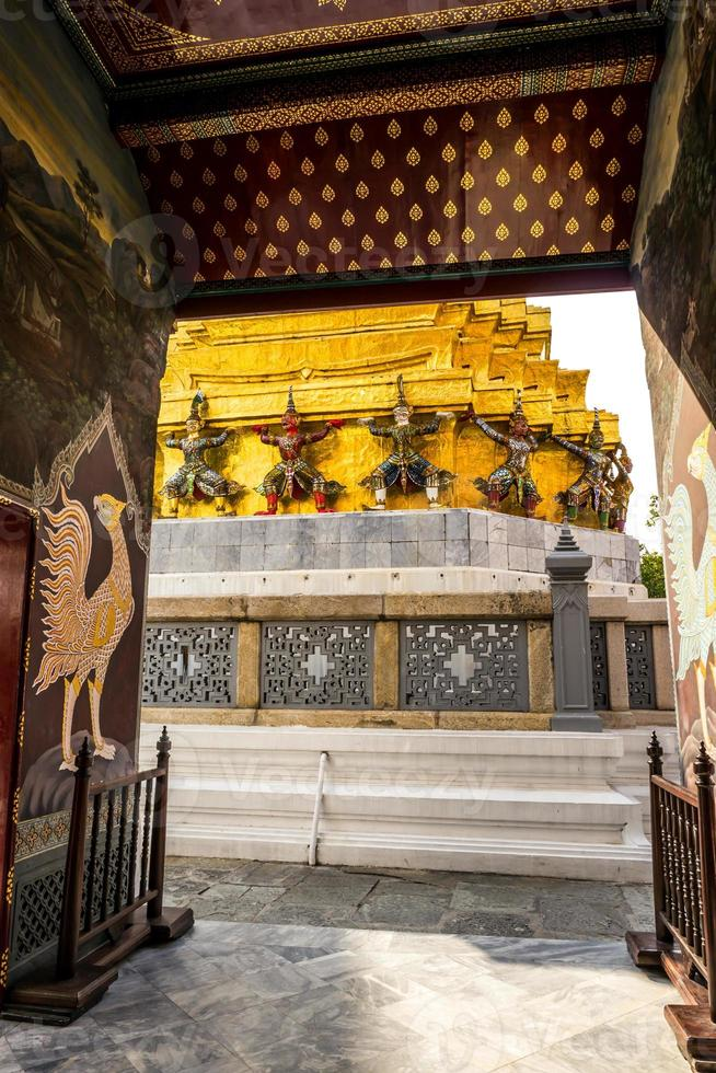 tempel van de smaragdgroene Boeddha foto