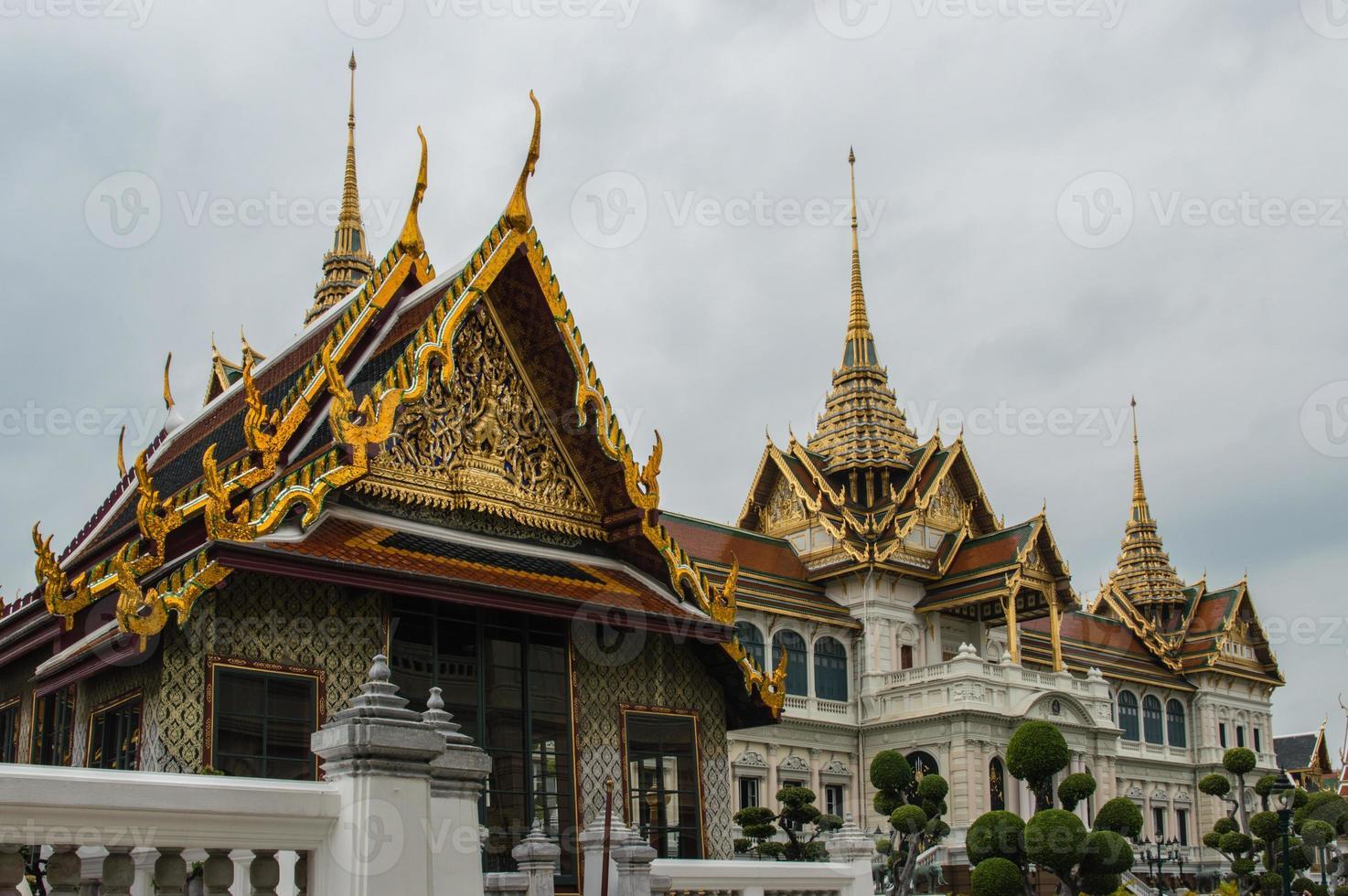 wat phra kaeotempel Bangkok Thailand foto