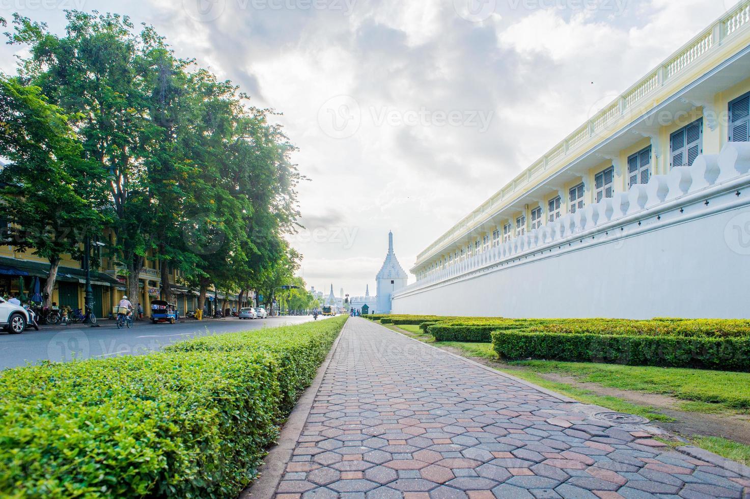 bangkok tempel van de smaragdgroene boeddha (wat phra kaew) foto