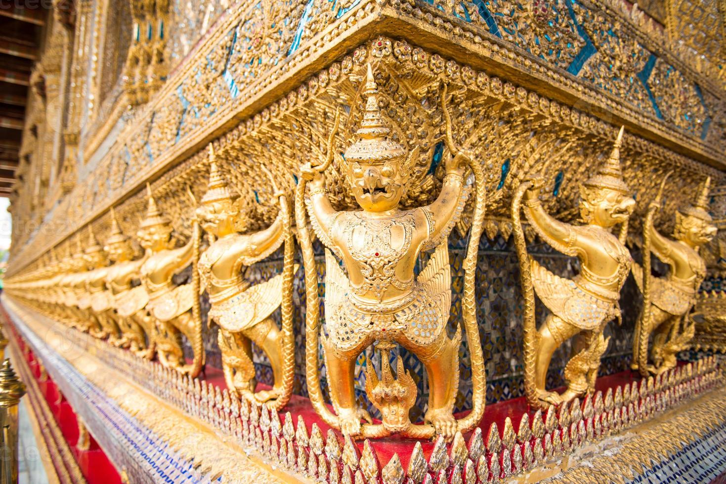 wat phra keo, bangkok, thailand foto