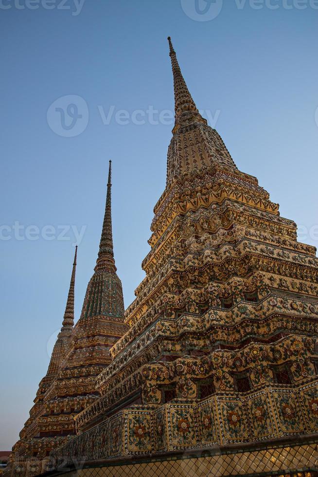 wat po bangkok thailand foto