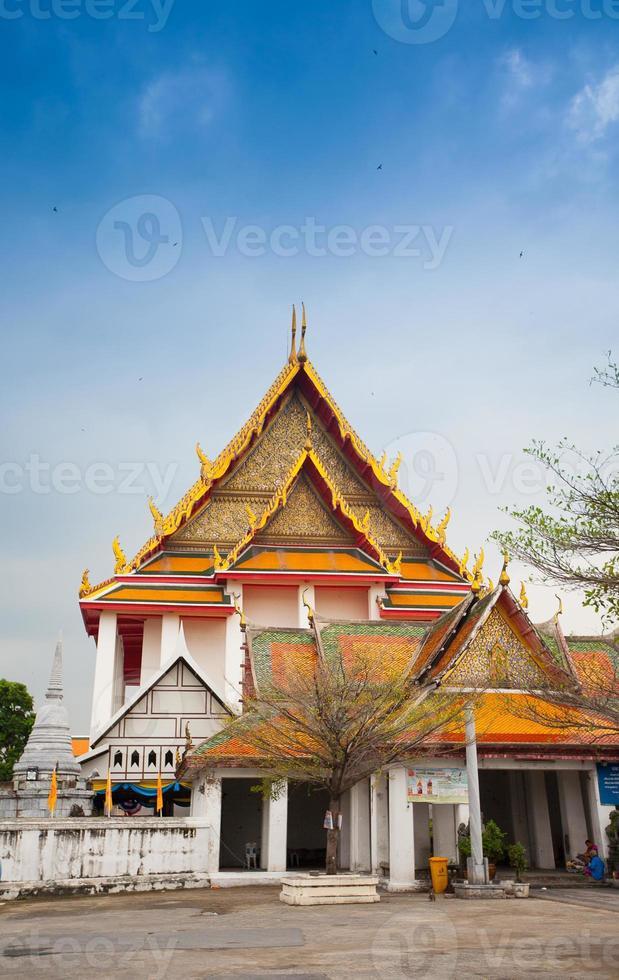 tempel in bangkok, thailand foto