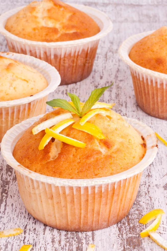 citroen muffin foto