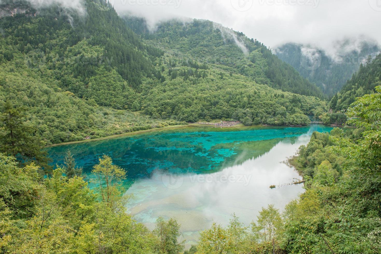 Jiuzhaigou Valley National Park, China. foto