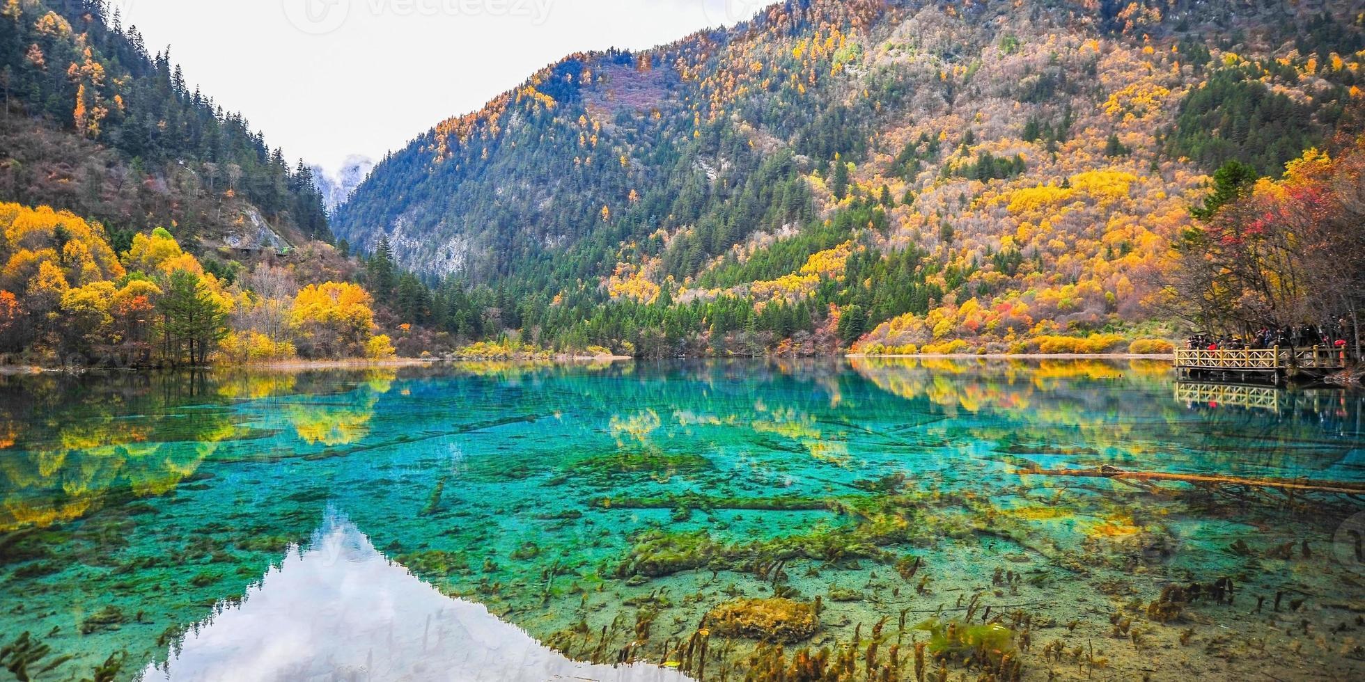 nationaal park jiuzhaigou foto