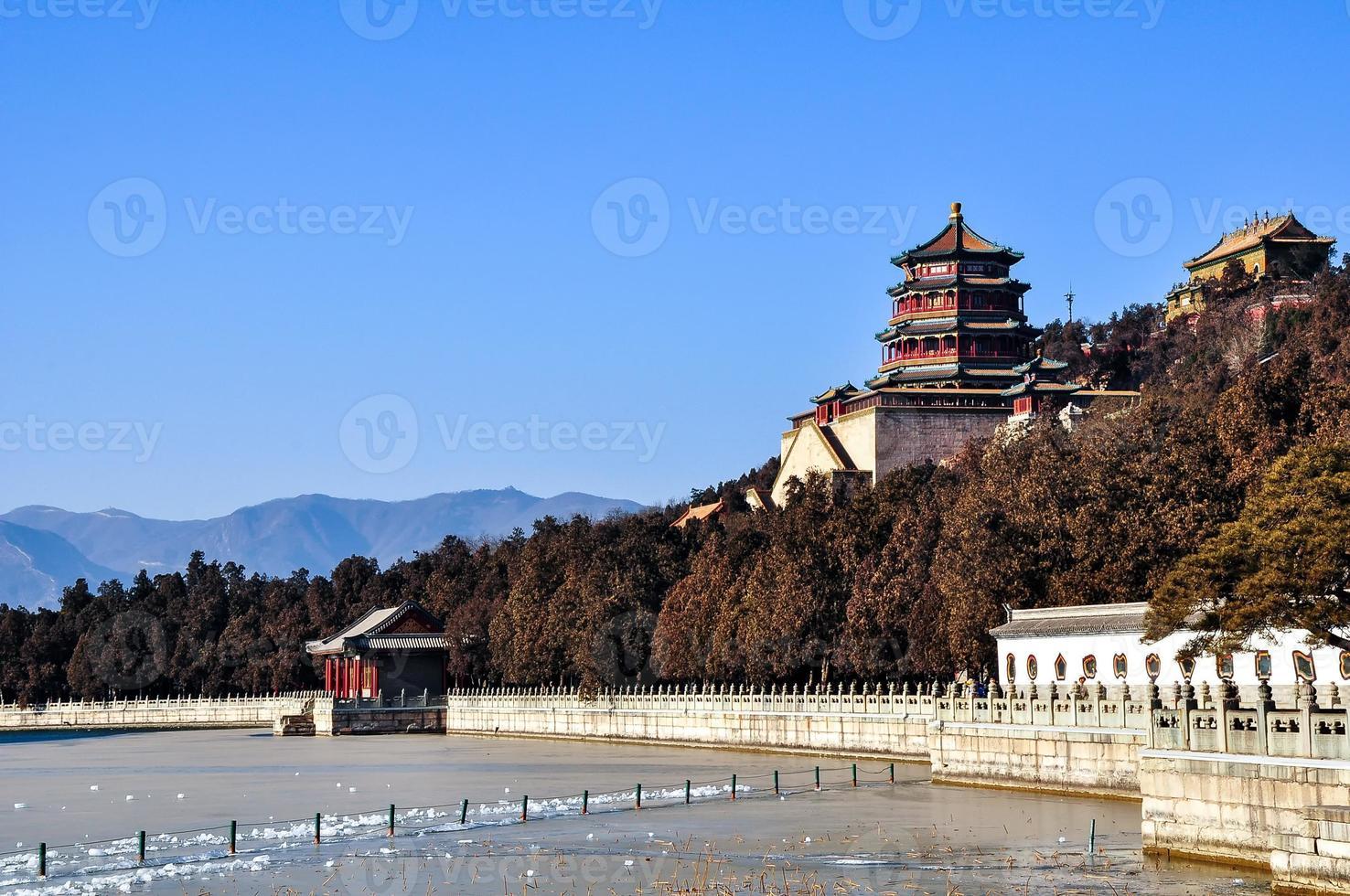 koninklijke tuin in Peking foto
