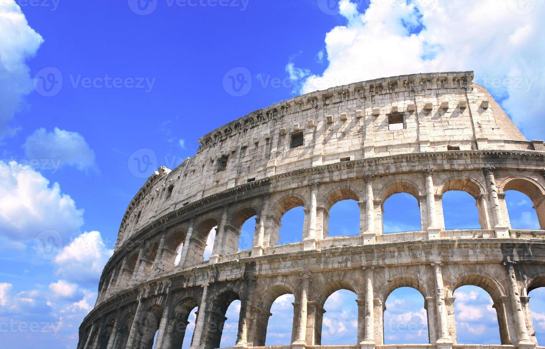 oude colosseum, rome, Italië foto