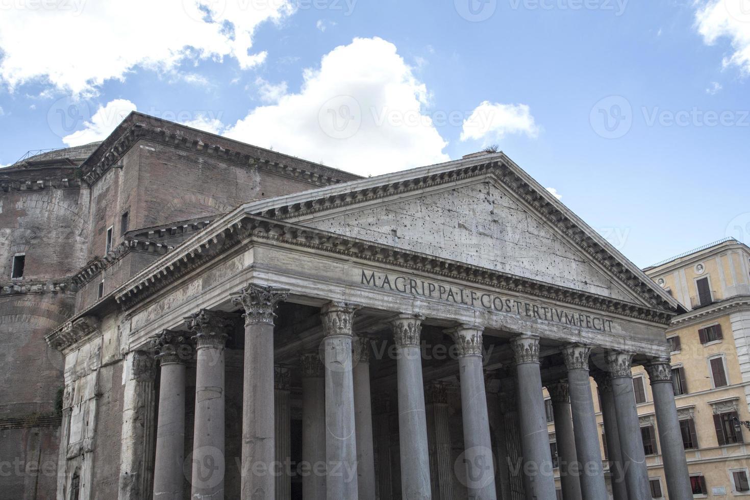 Italië - Rome, het pantheon foto