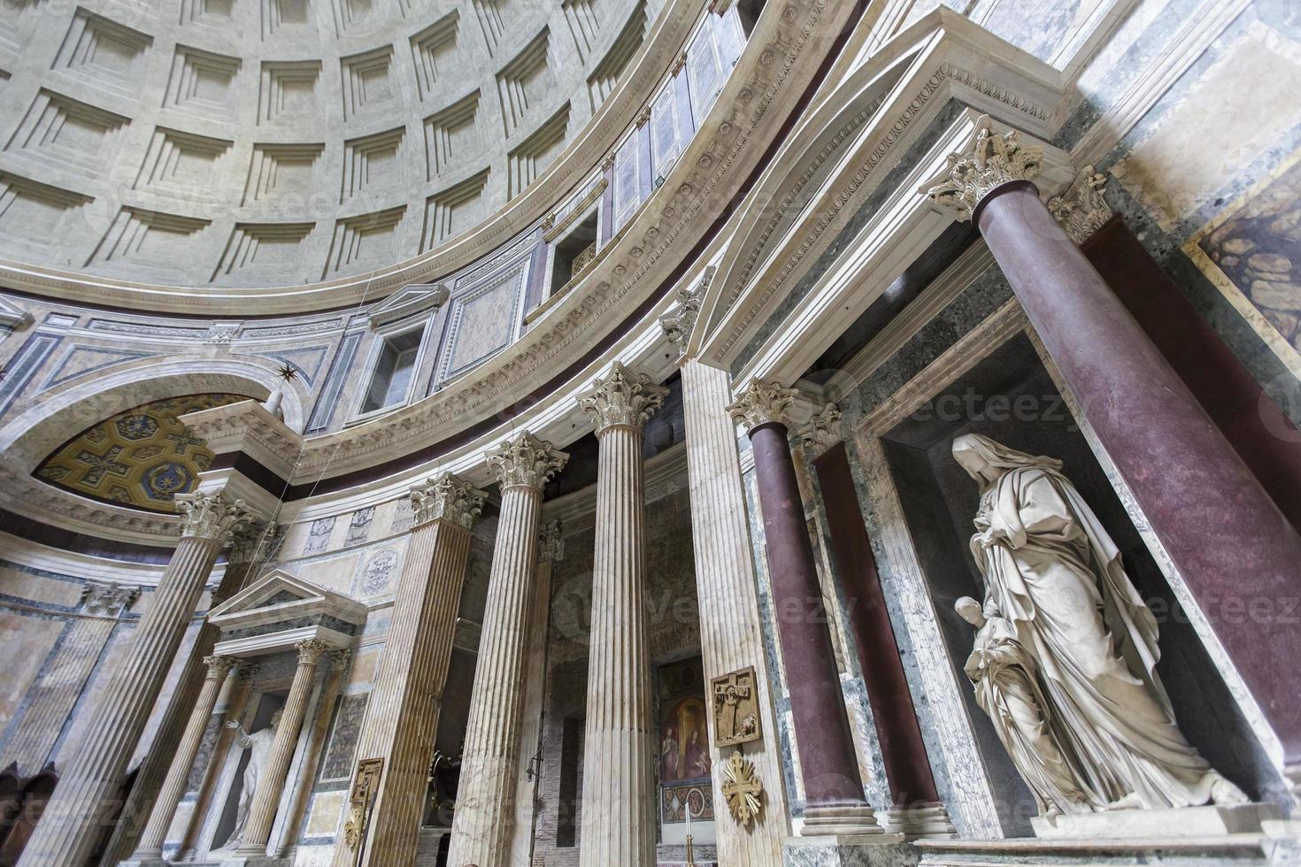 pantheon in rome, Italië foto