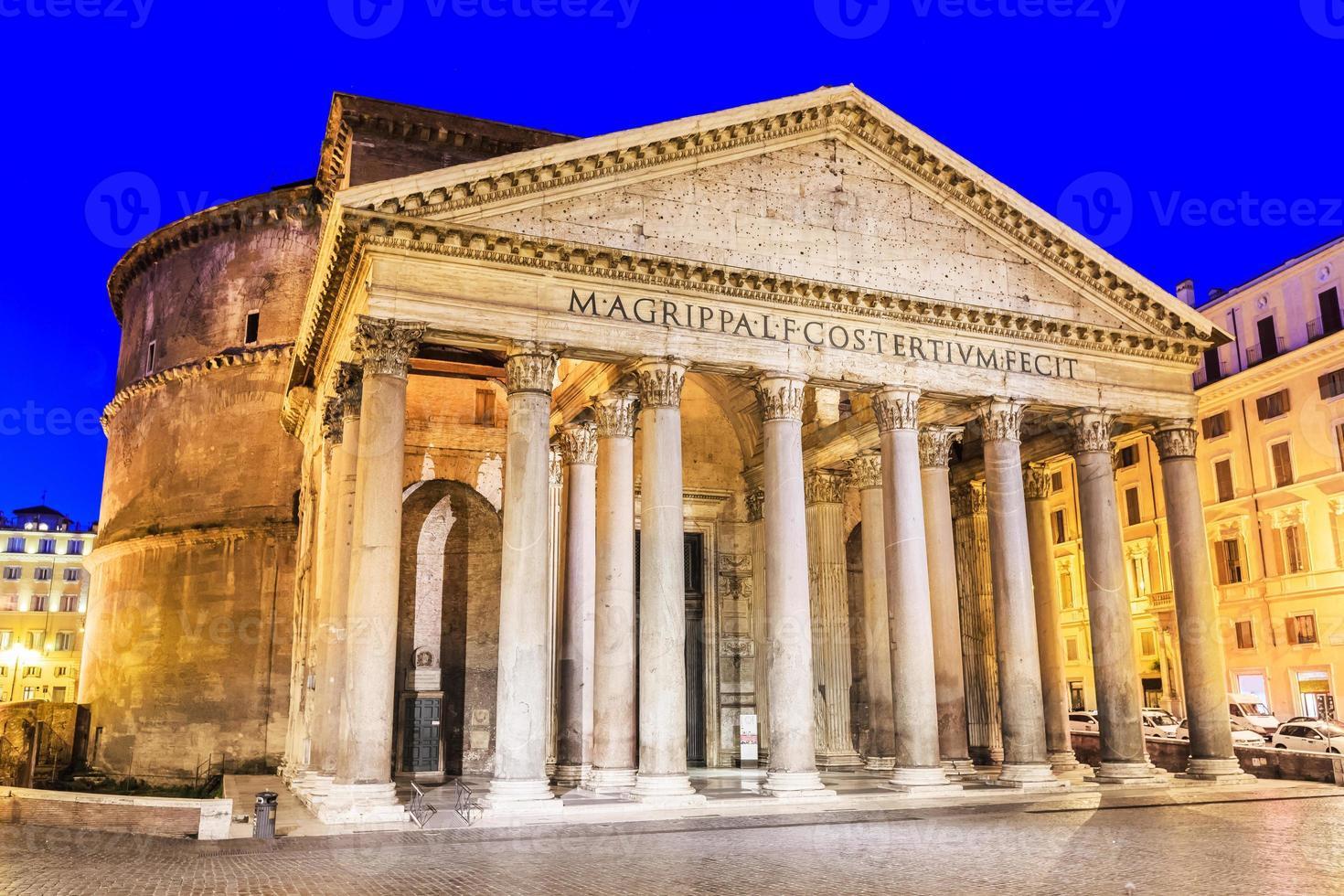 pantheon. Rome, Italië foto