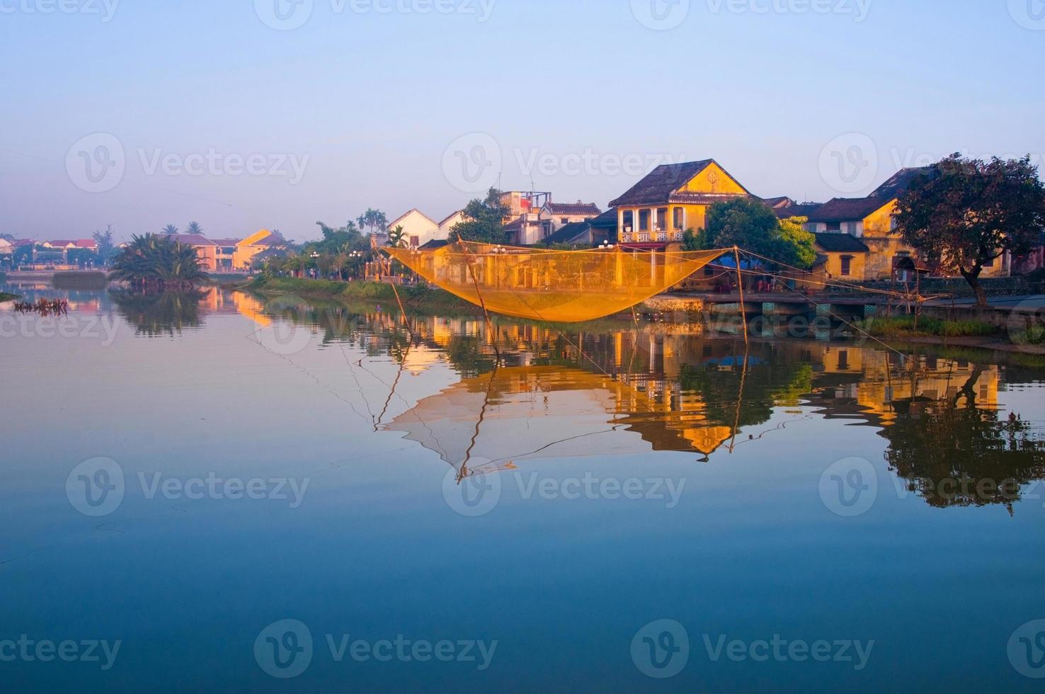 oude stad hoi an in vietnam foto