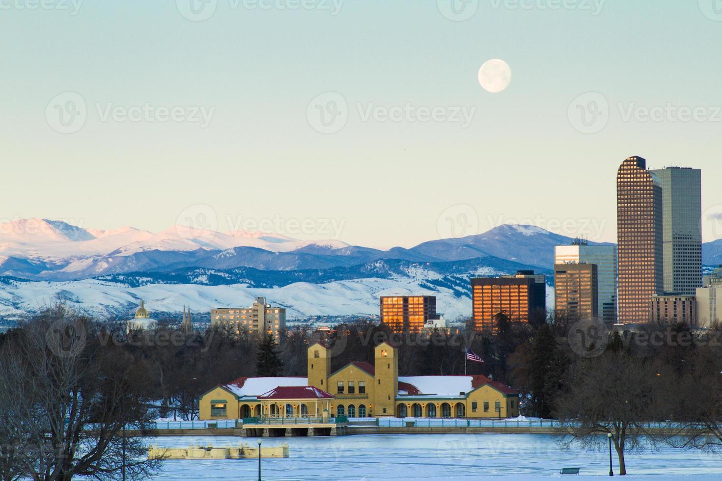 mijl hoge stad van Denver foto