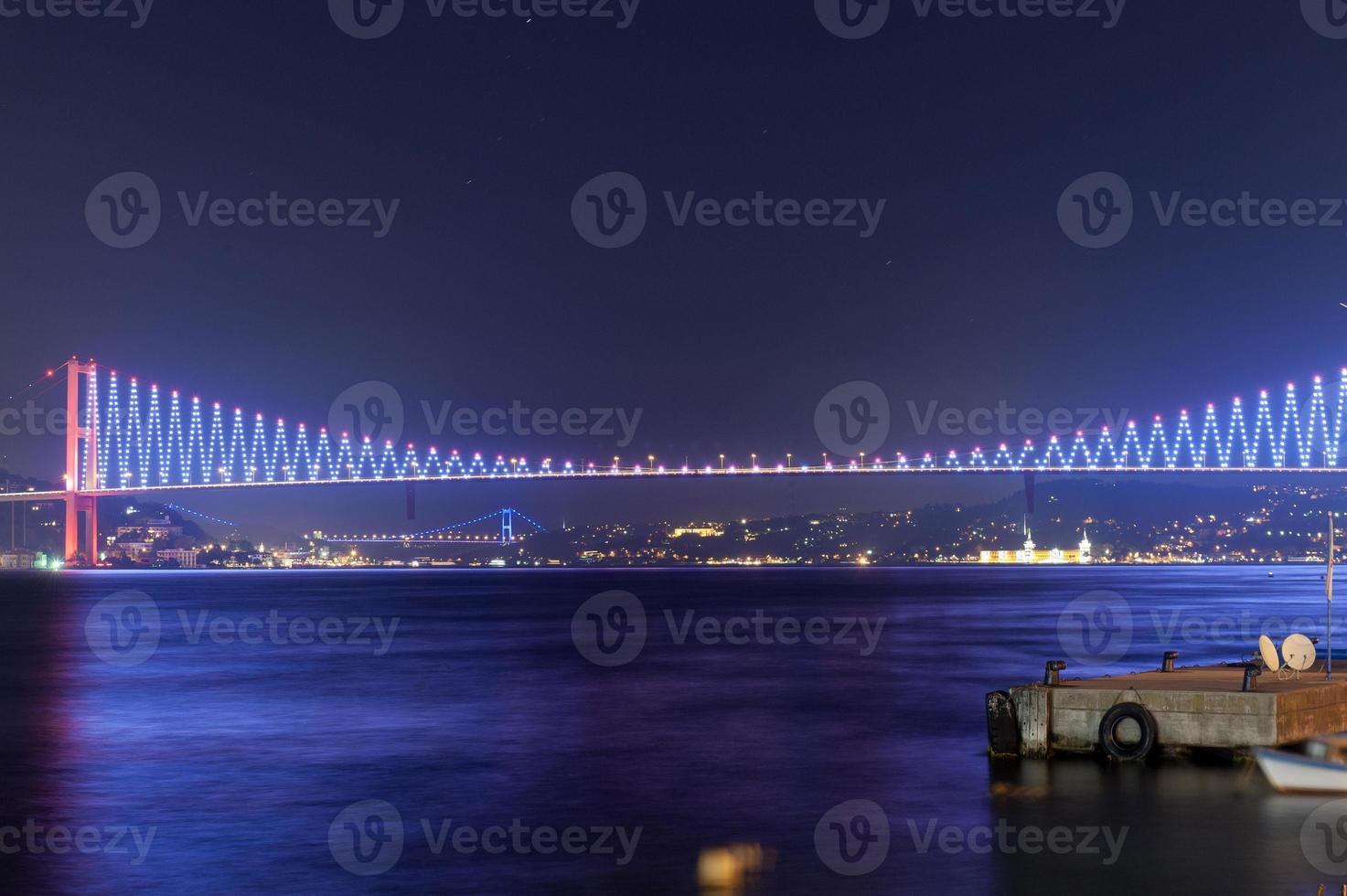 Bosporus-brug, istanbul foto