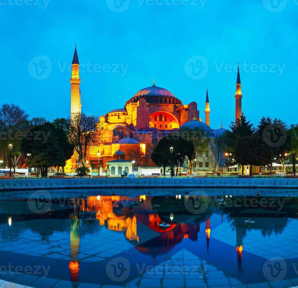 hagia sophia in istanbul, turkije foto