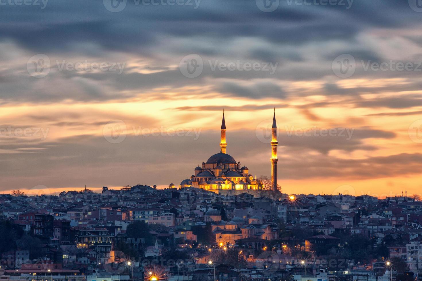 fatih moskee foto