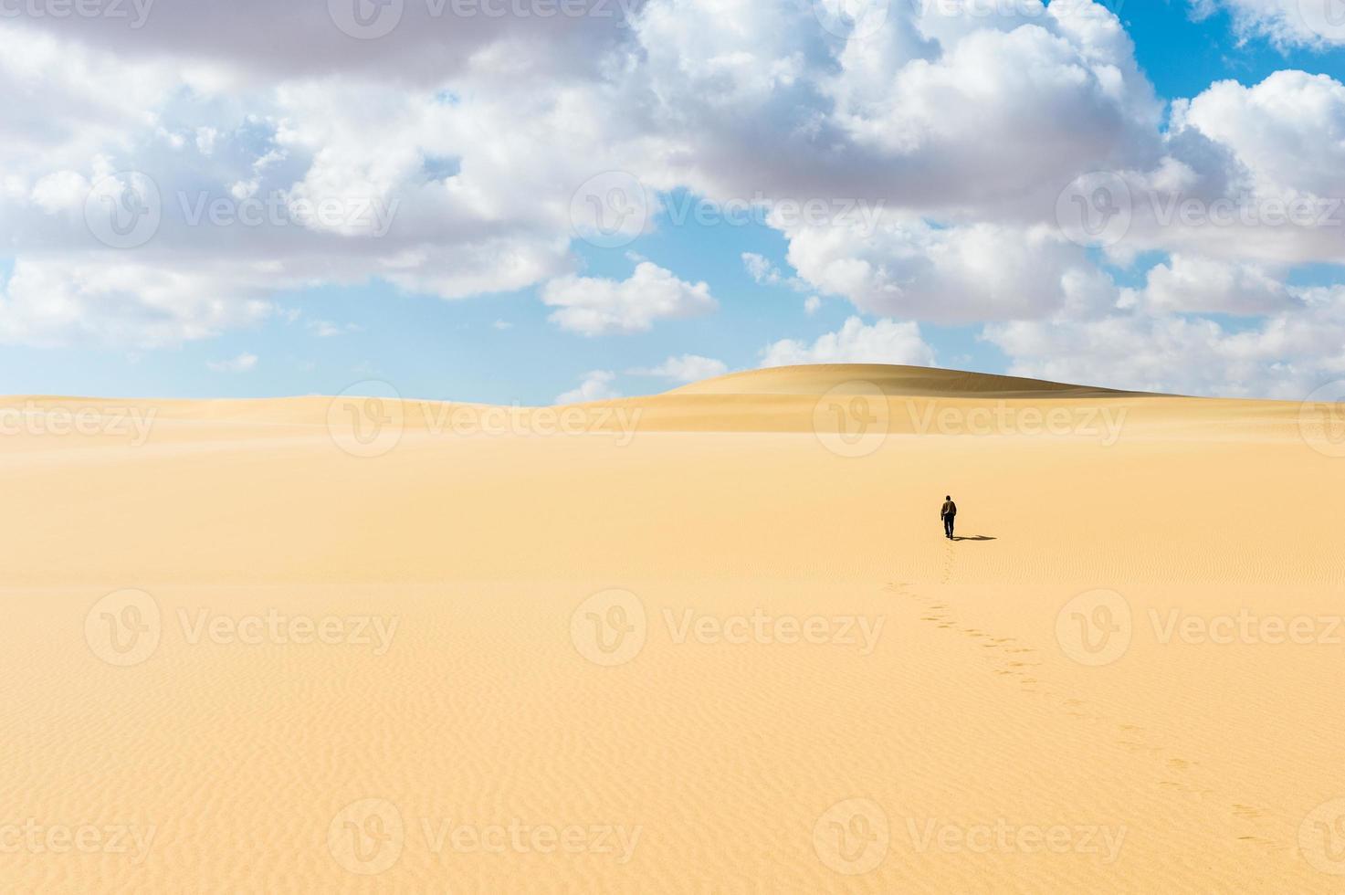 woestijn in Egypte foto